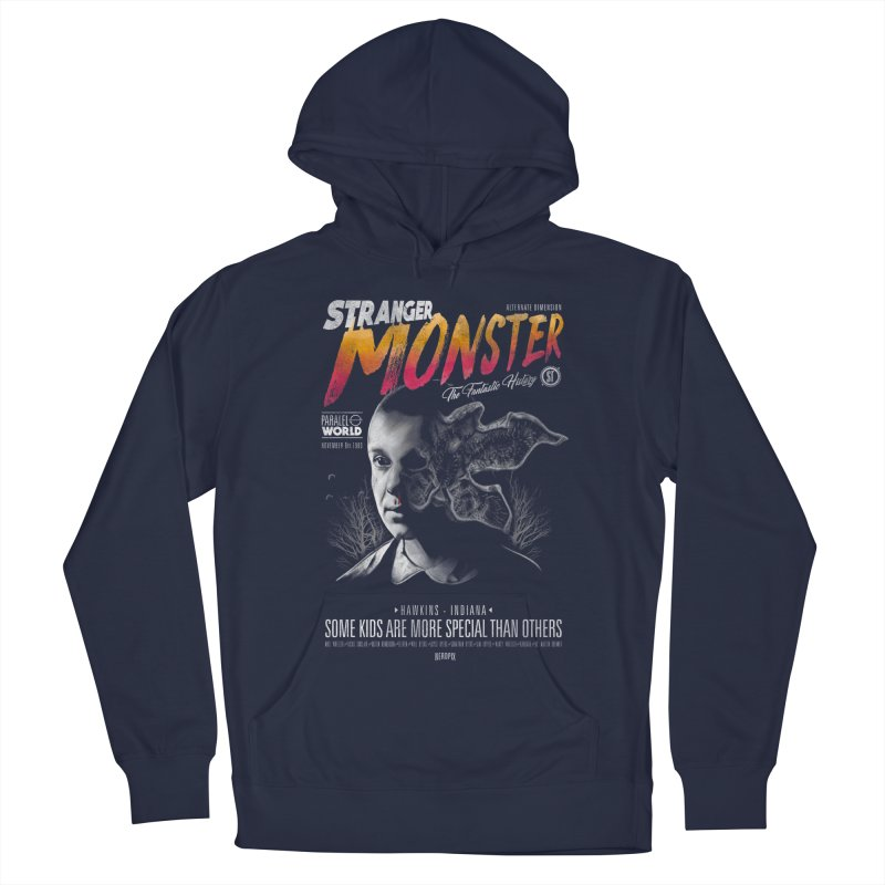 Stranger monster Women's French Terry Pullover Hoody by jackduarte's Artist Shop