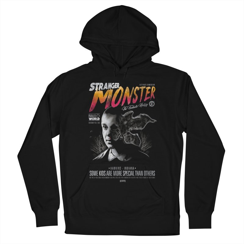 Stranger monster Men's French Terry Pullover Hoody by jackduarte's Artist Shop
