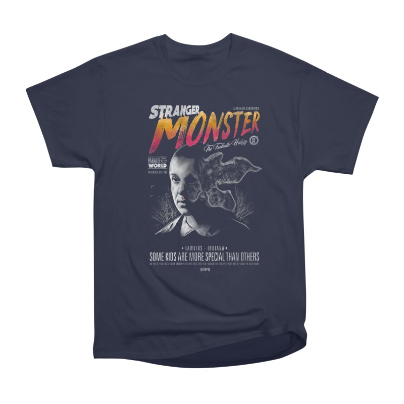 Stranger monster Men's Heavyweight T-Shirt by jackduarte's Artist Shop