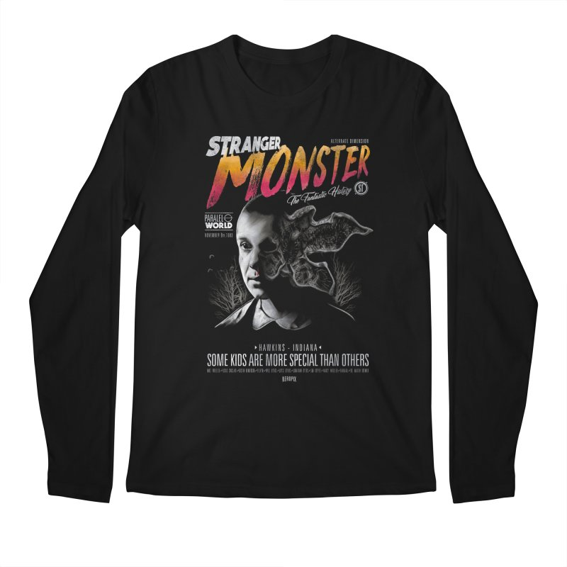 Stranger monster Men's Regular Longsleeve T-Shirt by jackduarte's Artist Shop