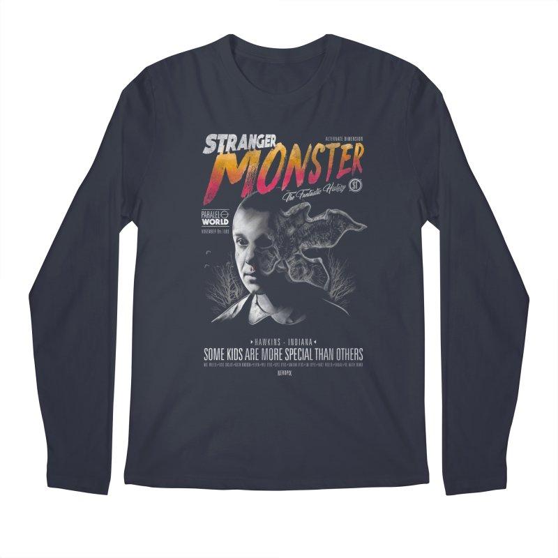 Stranger monster Men's Regular Longsleeve T-Shirt by jackduarte's Artist Shop