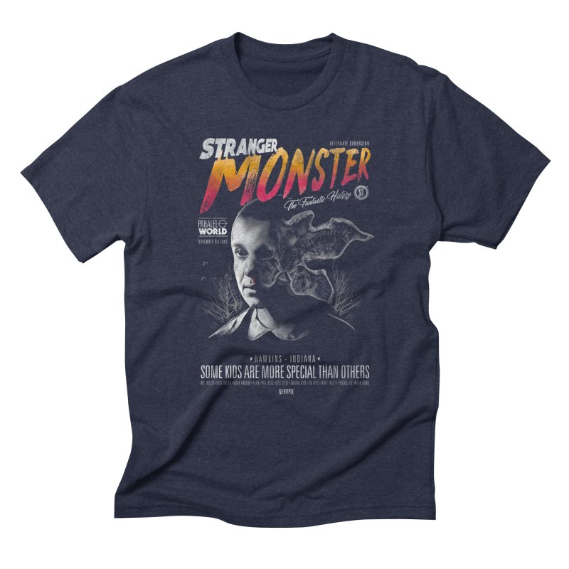 Stranger monster Men's Triblend T-Shirt by jackduarte's Artist Shop