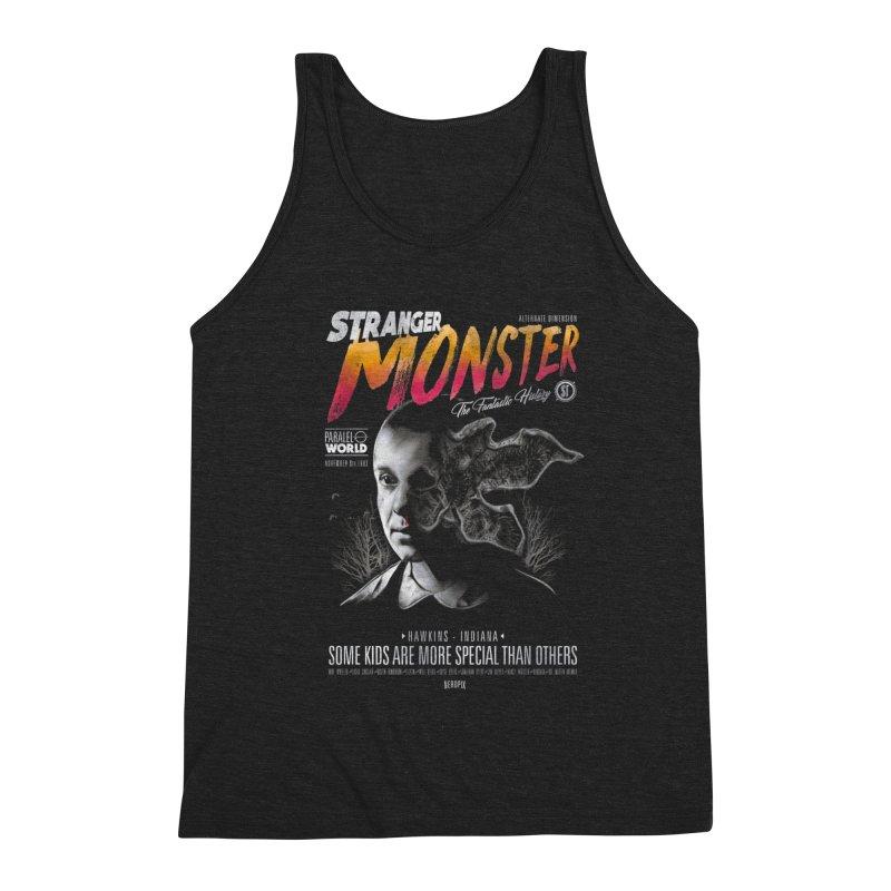 Stranger monster Men's Triblend Tank by jackduarte's Artist Shop