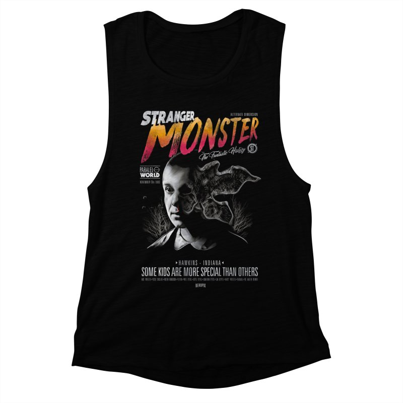 Stranger monster Women's Muscle Tank by jackduarte's Artist Shop