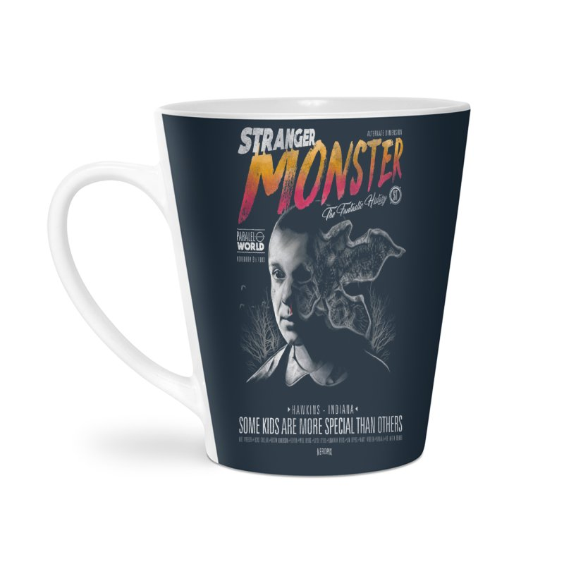 Stranger monster Accessories Latte Mug by jackduarte's Artist Shop
