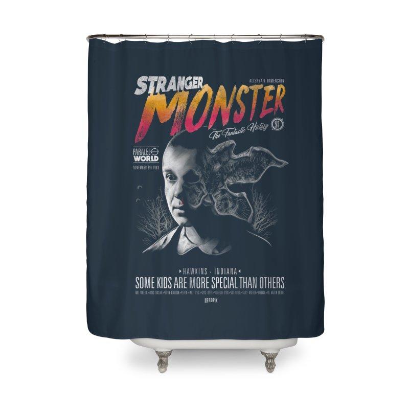 Stranger monster Home Shower Curtain by jackduarte's Artist Shop