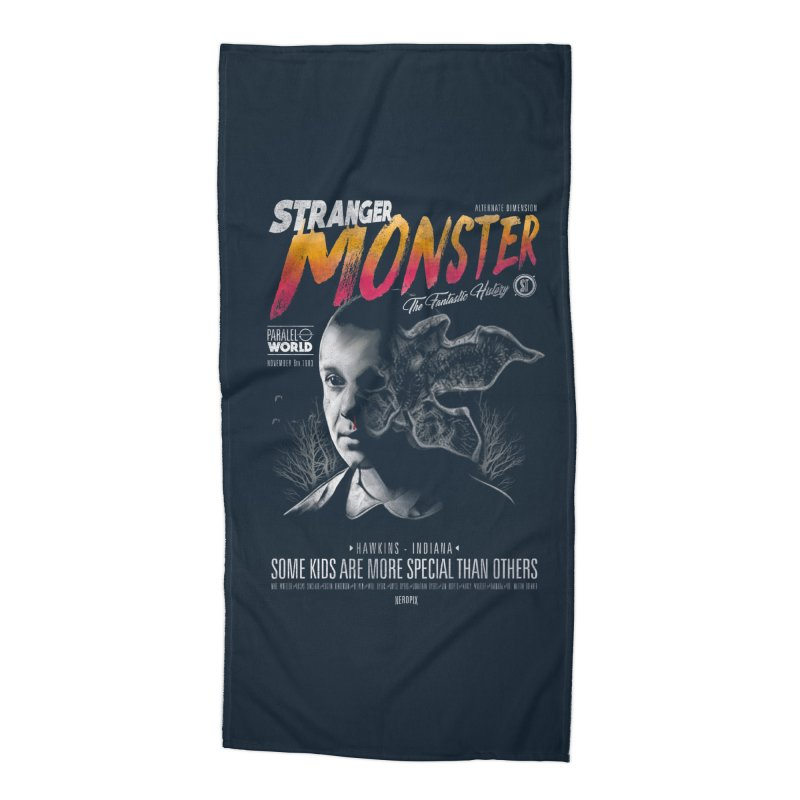 Stranger monster Accessories Beach Towel by jackduarte's Artist Shop