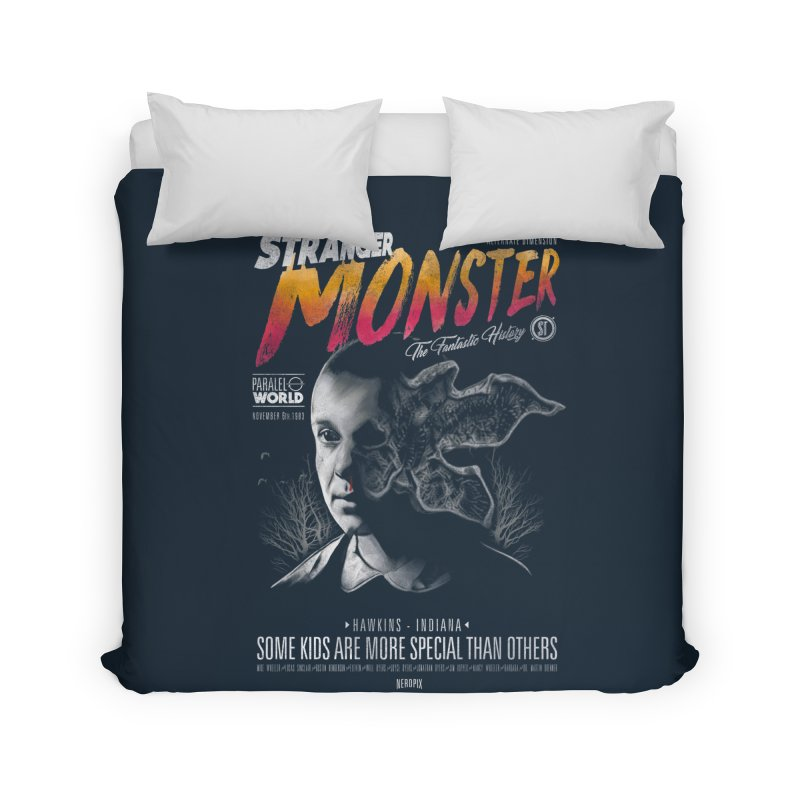 Stranger monster Home Duvet by jackduarte's Artist Shop