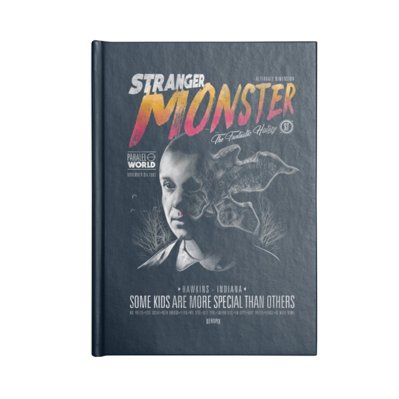 Stranger monster Accessories Blank Journal Notebook by jackduarte's Artist Shop