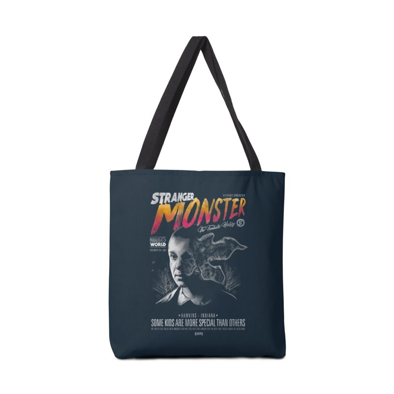 Stranger monster Accessories Tote Bag Bag by jackduarte's Artist Shop