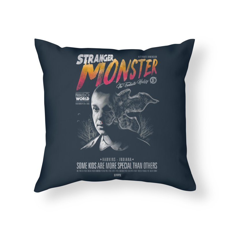 Stranger monster Home Throw Pillow by jackduarte's Artist Shop