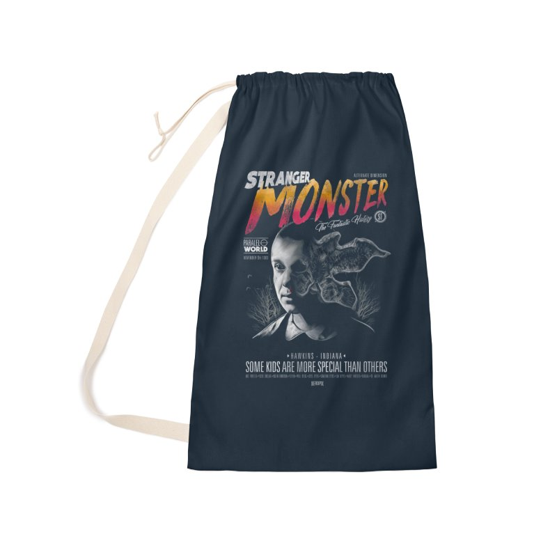 Stranger monster Accessories Laundry Bag Bag by jackduarte's Artist Shop