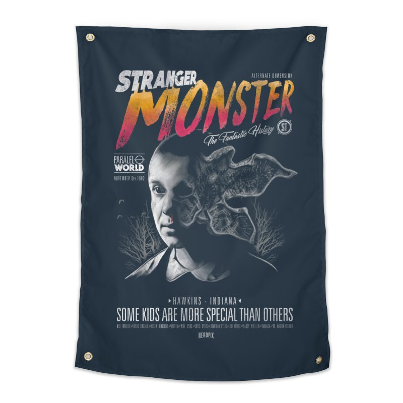 Stranger monster Home Tapestry by jackduarte's Artist Shop