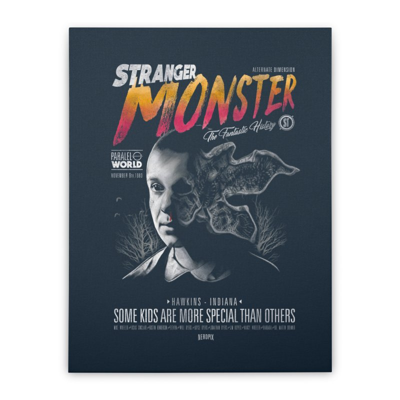Stranger monster Home Stretched Canvas by jackduarte's Artist Shop