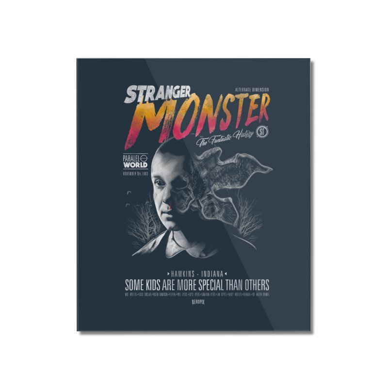 Stranger monster Home Mounted Acrylic Print by jackduarte's Artist Shop