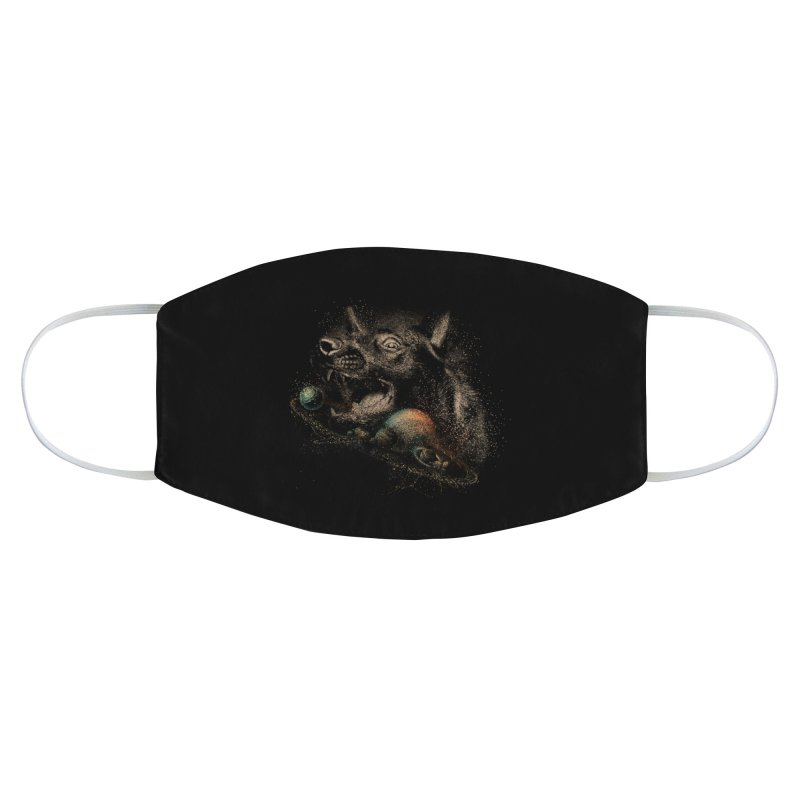 Dog space Accessories Face Mask by jackduarte's Artist Shop
