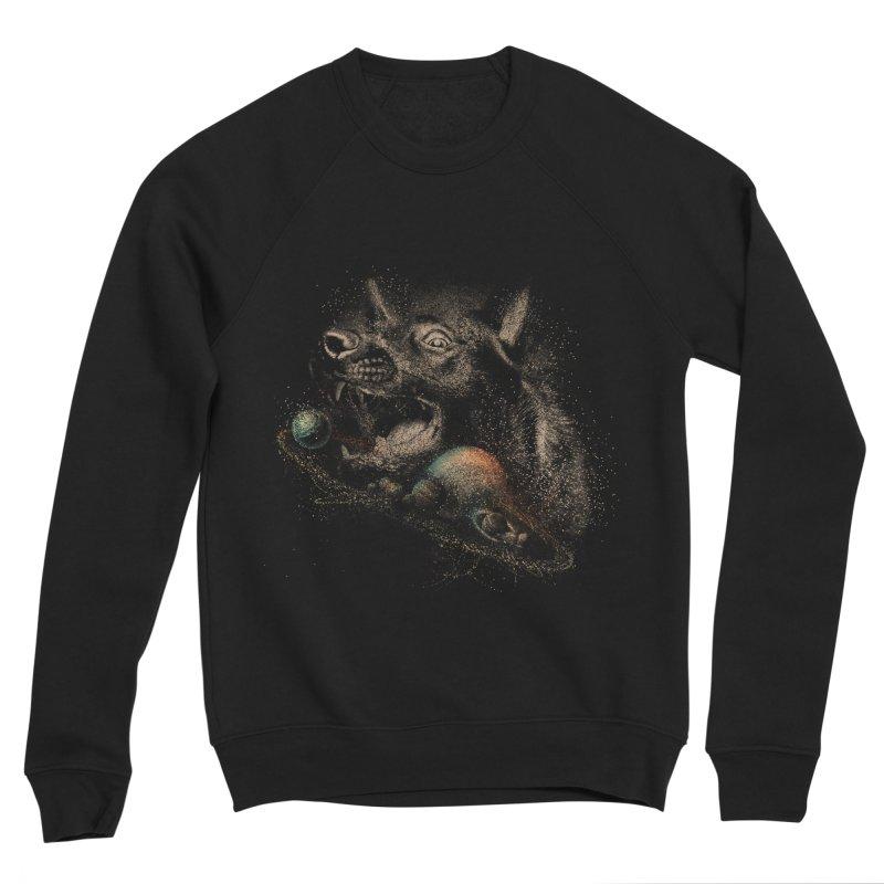 Dog space Men's Sponge Fleece Sweatshirt by jackduarte's Artist Shop