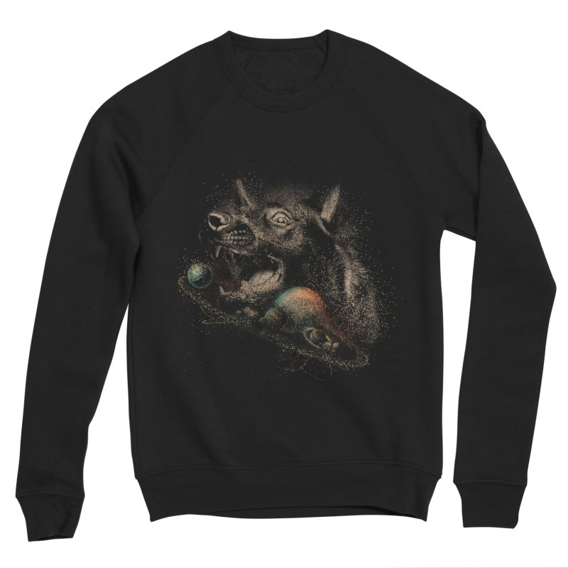 Dog space Women's Sweatshirt by jackduarte's Artist Shop