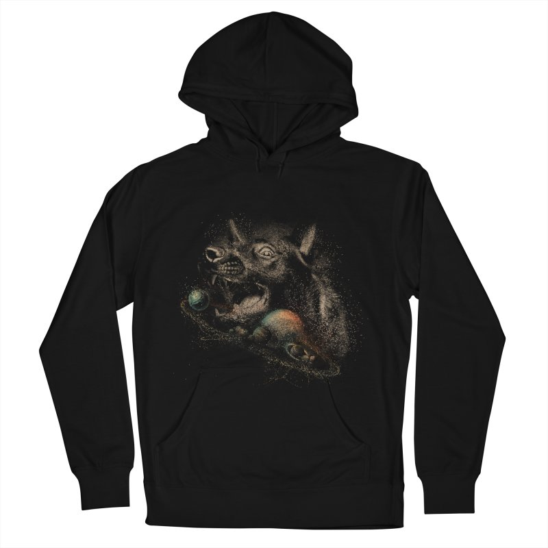 Dog space Men's Pullover Hoody by jackduarte's Artist Shop
