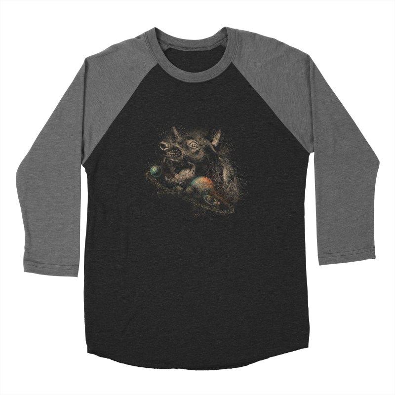 Dog space Women's Baseball Triblend Longsleeve T-Shirt by jackduarte's Artist Shop