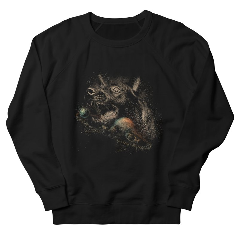 Dog space Men's French Terry Sweatshirt by jackduarte's Artist Shop