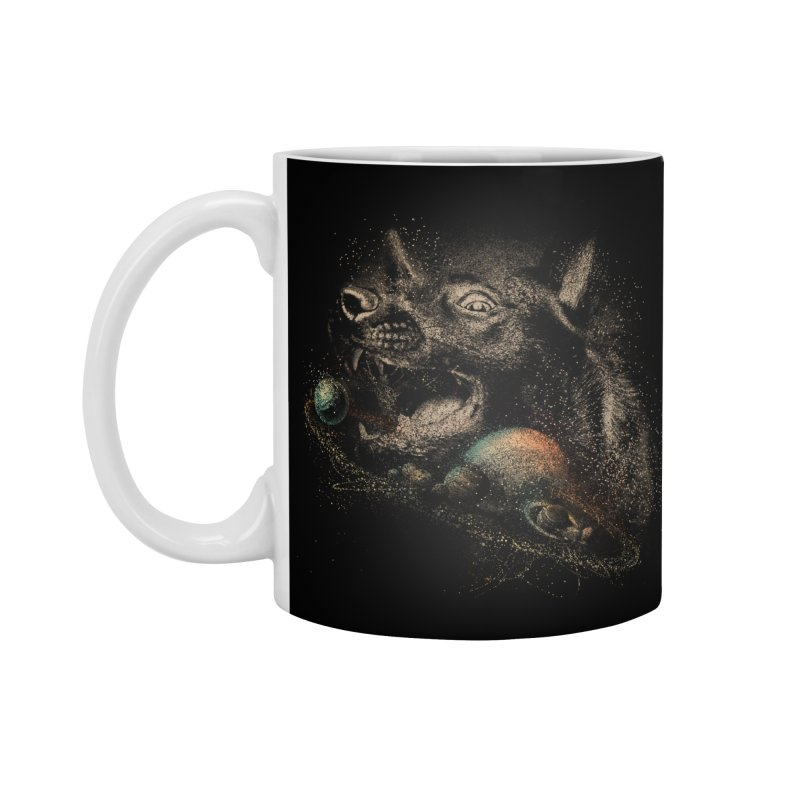 Dog space Accessories Standard Mug by jackduarte's Artist Shop