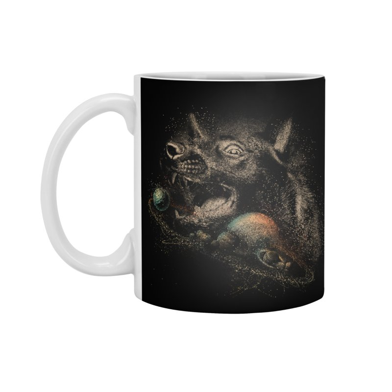Dog space Accessories Mug by jackduarte's Artist Shop