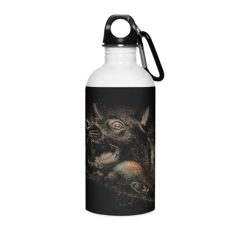 Dog space Accessories Water Bottle by jackduarte's Artist Shop