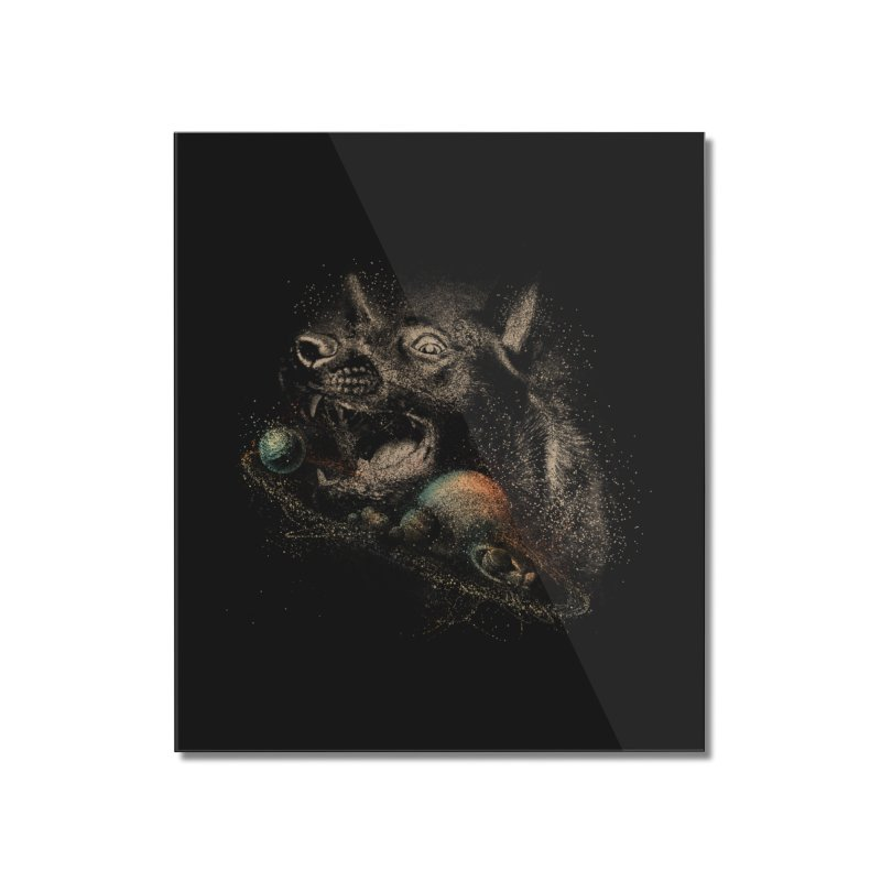 Dog space Home Mounted Acrylic Print by jackduarte's Artist Shop