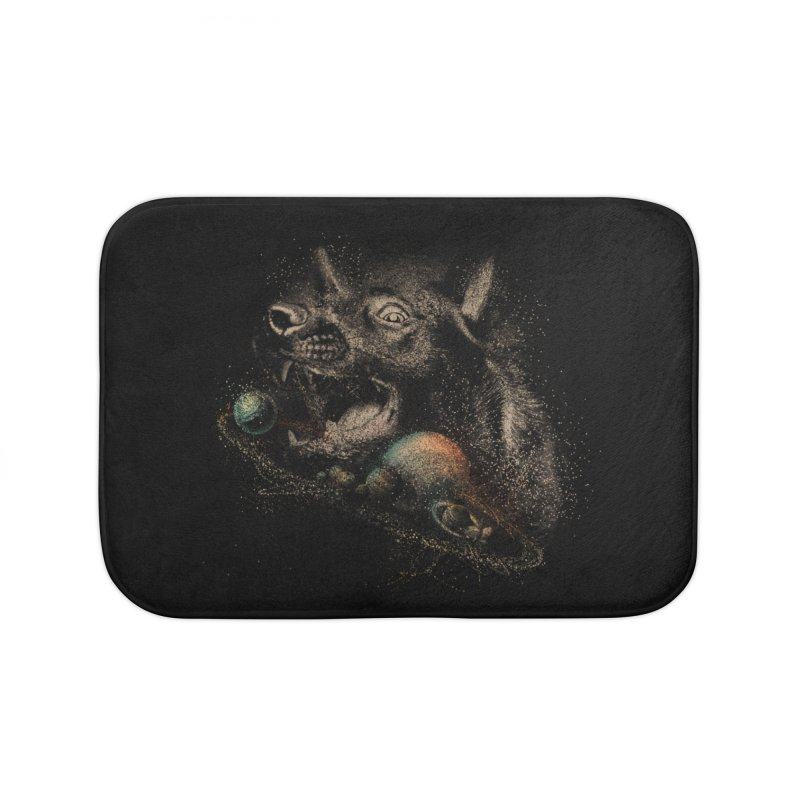 Dog space Home Bath Mat by jackduarte's Artist Shop