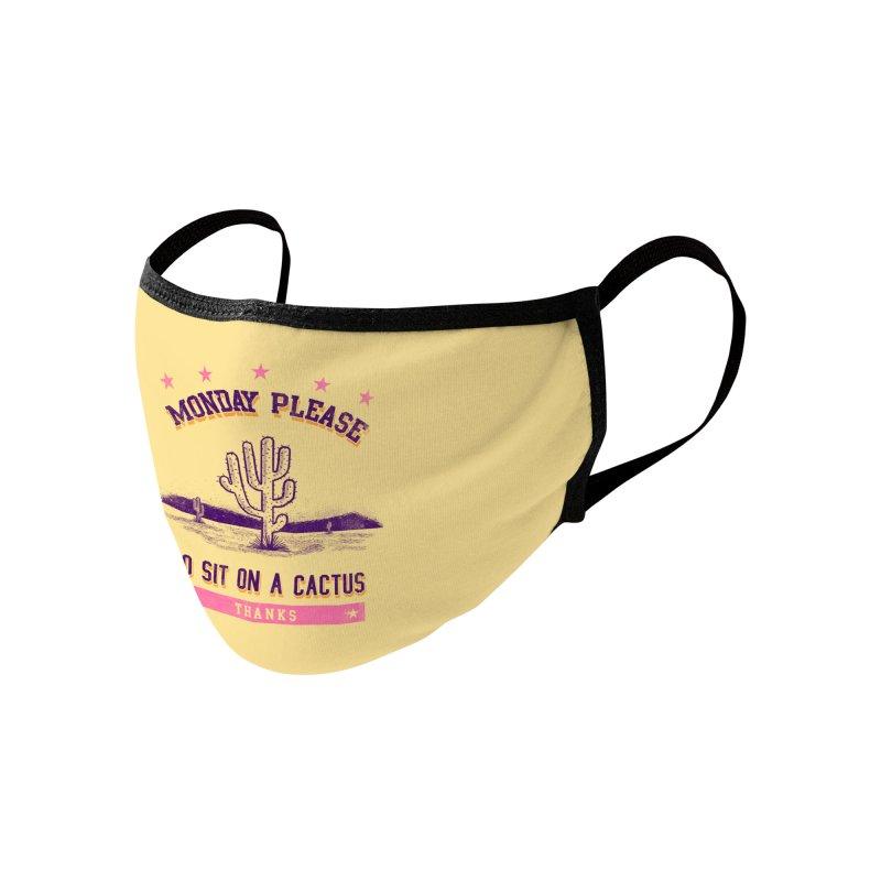 Monday please Accessories Face Mask by jackduarte's Artist Shop