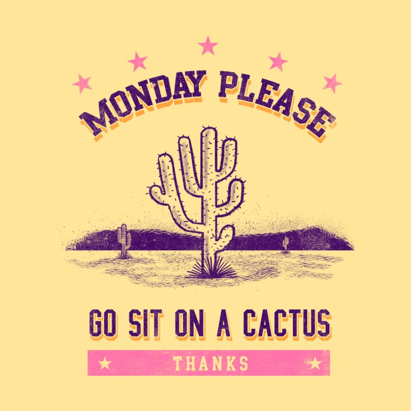 Monday please Accessories Beach Towel by jackduarte's Artist Shop