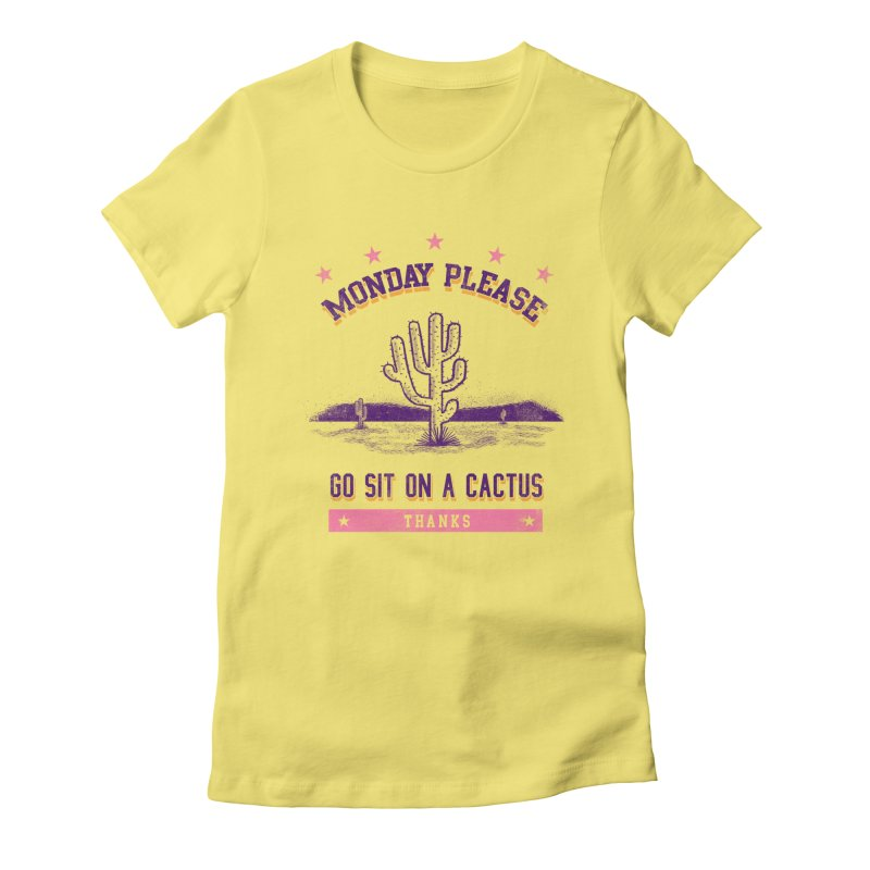 Monday please Women's T-Shirt by jackduarte's Artist Shop