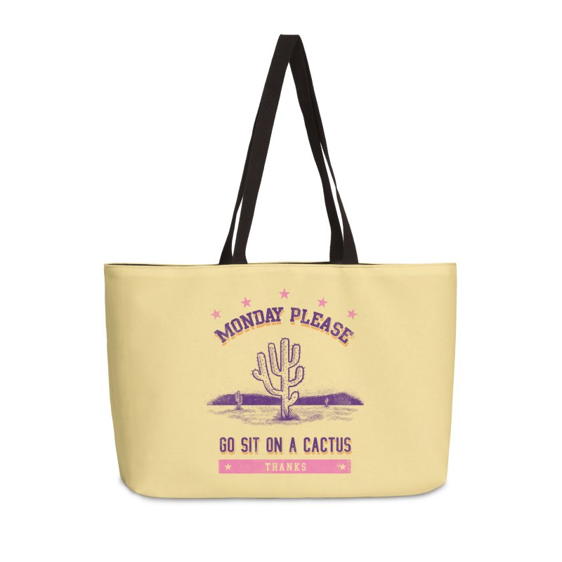Monday please Accessories Bag by jackduarte's Artist Shop