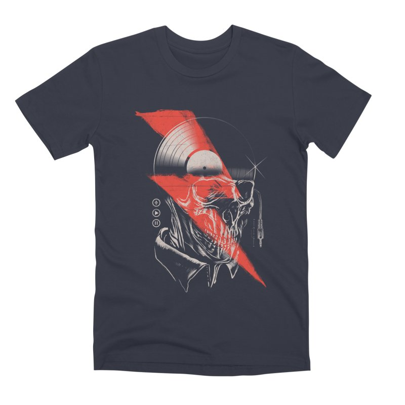 Music mind Men's T-Shirt by jackduarte's Artist Shop