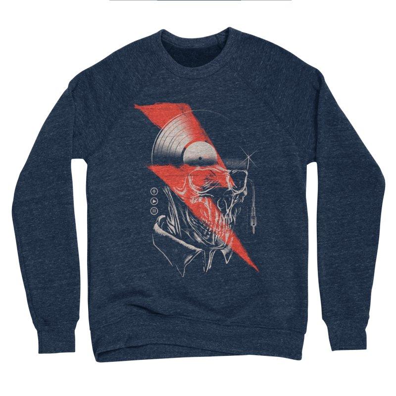 Music mind Men's Sponge Fleece Sweatshirt by jackduarte's Artist Shop