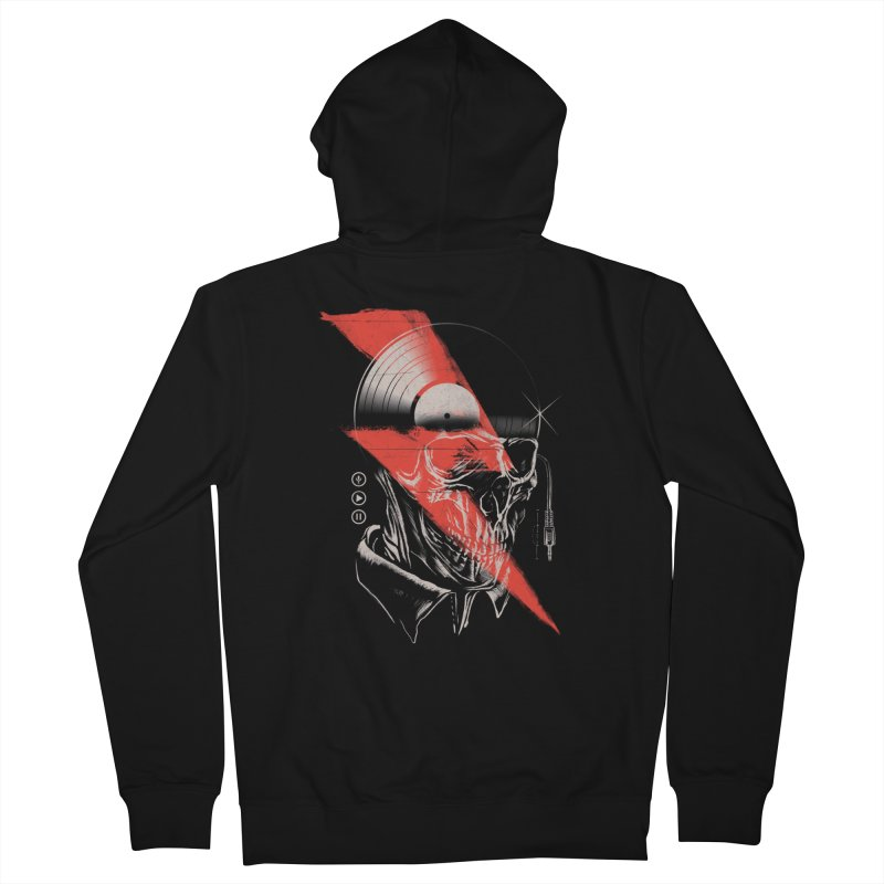 Music mind Women's Zip-Up Hoody by jackduarte's Artist Shop