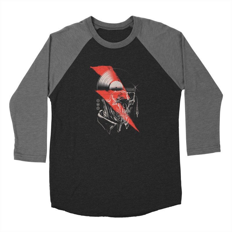 Music mind Women's Baseball Triblend Longsleeve T-Shirt by jackduarte's Artist Shop