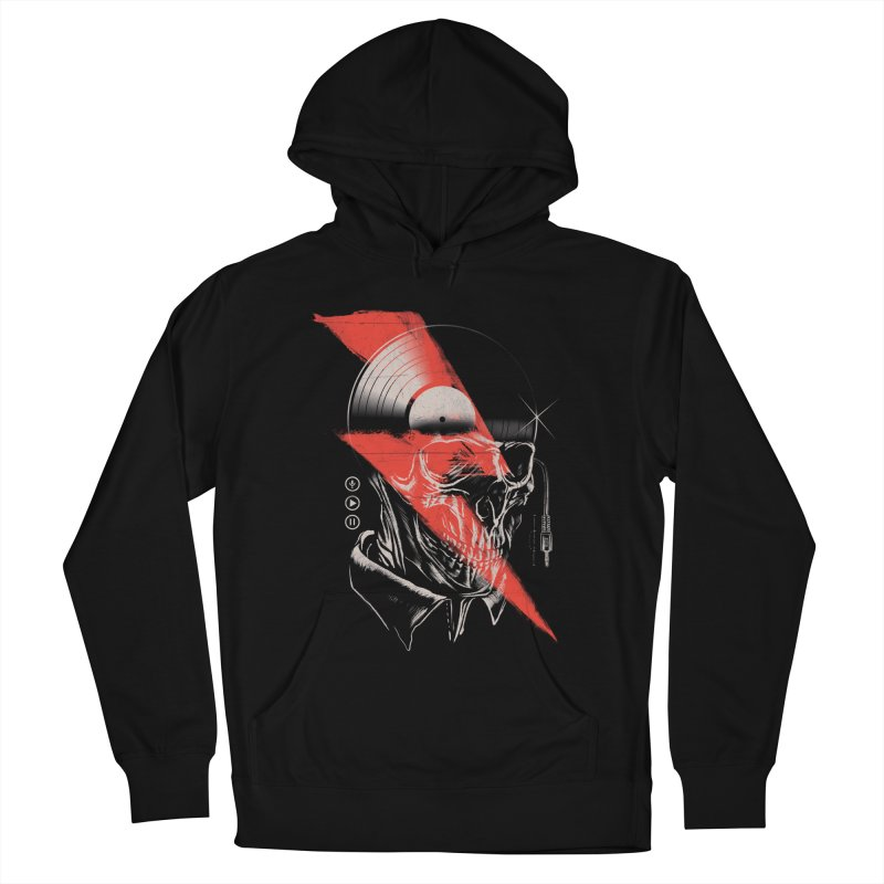 Music mind Men's French Terry Pullover Hoody by jackduarte's Artist Shop