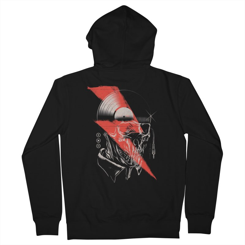 Music mind Men's Zip-Up Hoody by jackduarte's Artist Shop