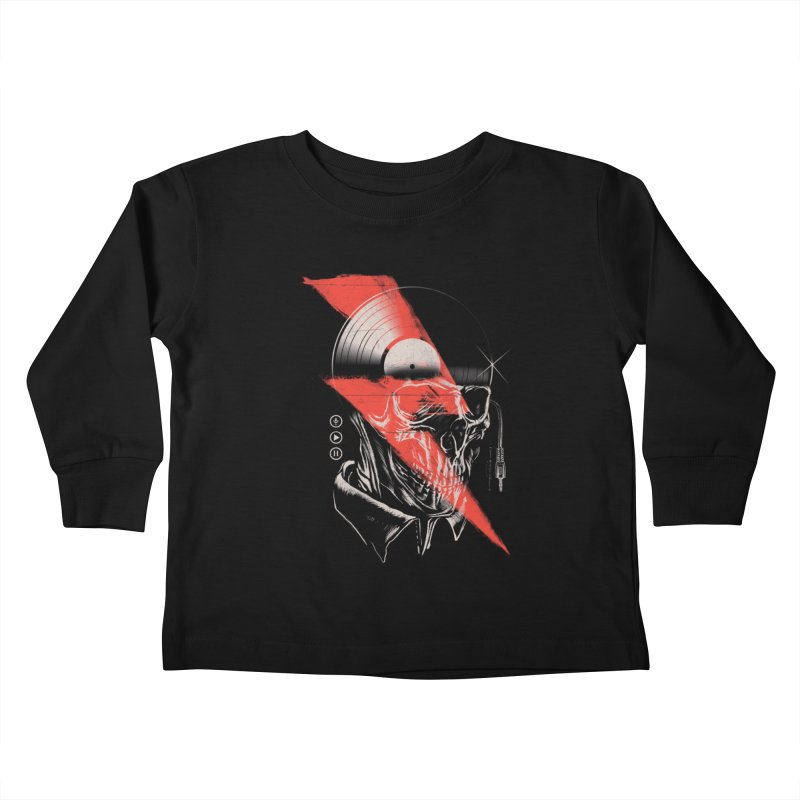 Music mind Kids Toddler Longsleeve T-Shirt by jackduarte's Artist Shop