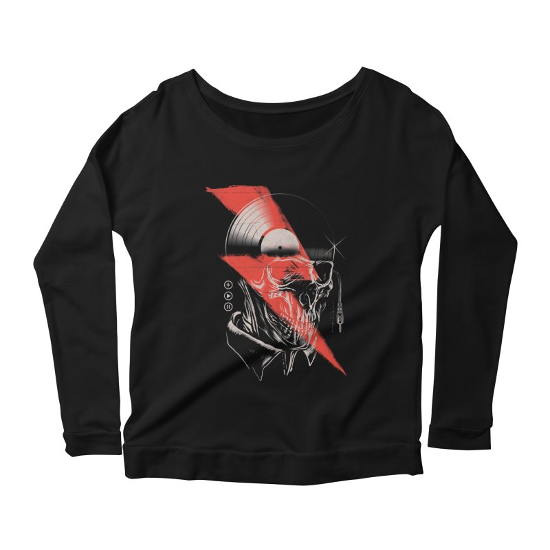 Music mind Women's Longsleeve T-Shirt by jackduarte's Artist Shop