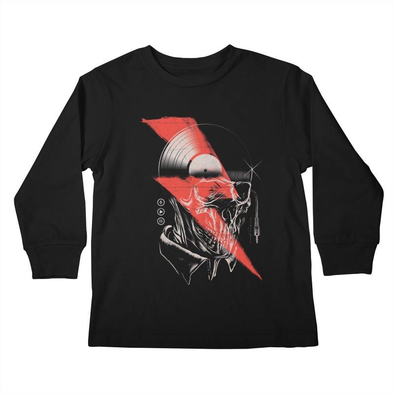 Music mind Kids Longsleeve T-Shirt by jackduarte's Artist Shop