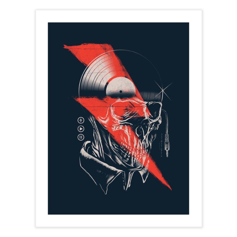Music mind Home Fine Art Print by jackduarte's Artist Shop