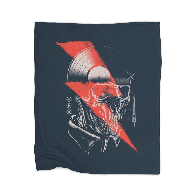 Music mind Home Blanket by jackduarte's Artist Shop