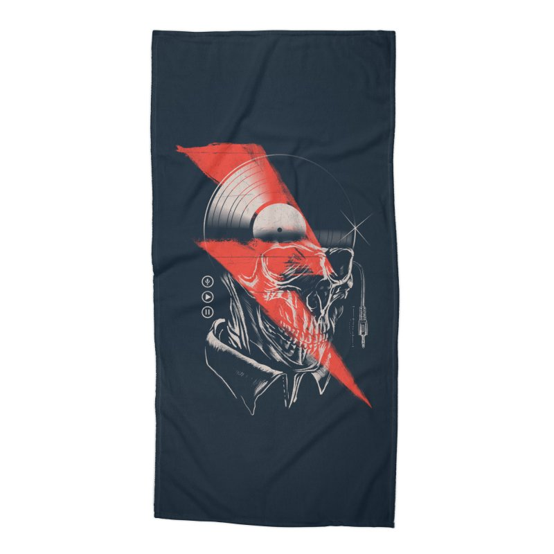 Music mind Accessories Beach Towel by jackduarte's Artist Shop