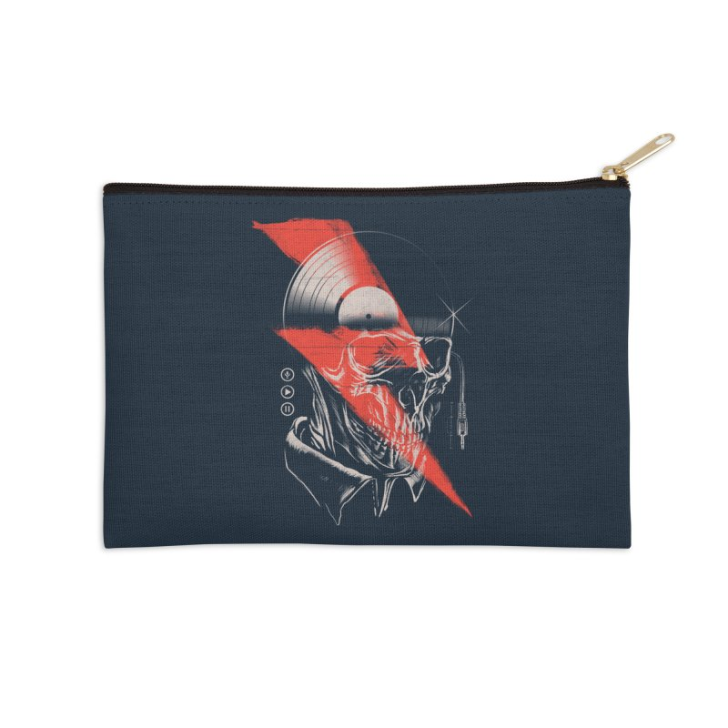 Music mind Accessories Zip Pouch by jackduarte's Artist Shop