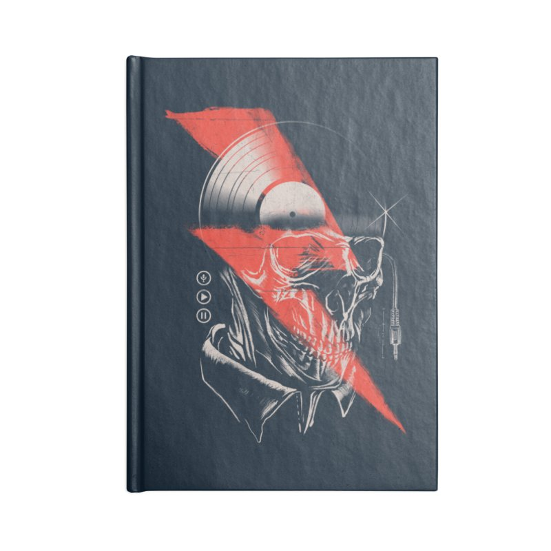 Music mind Accessories Notebook by jackduarte's Artist Shop