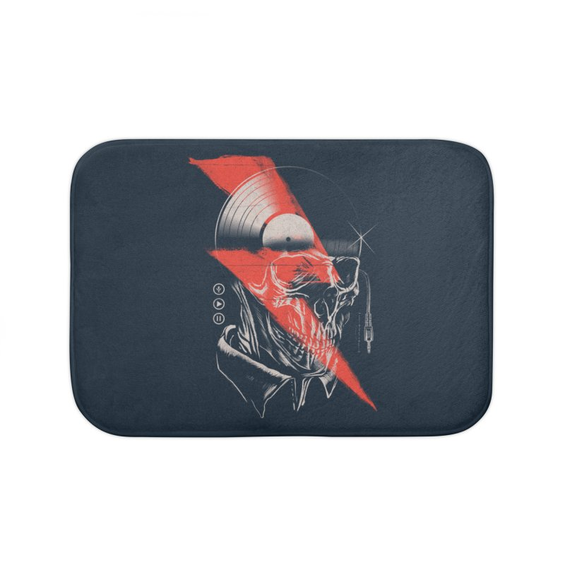 Music mind Home Bath Mat by jackduarte's Artist Shop