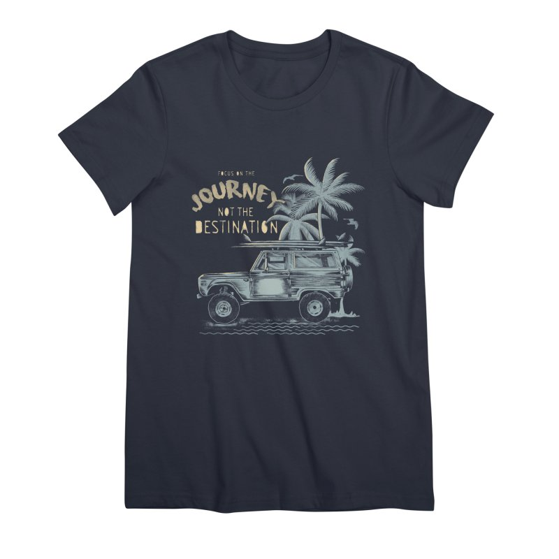 Journey Women's Premium T-Shirt by jackduarte's Artist Shop